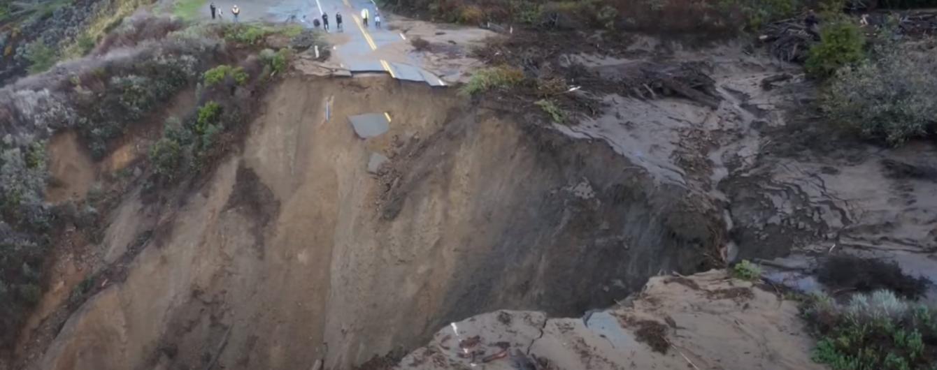 ვიდეო: როგორც ფილმებში- უდიდესმა მეწყერმა მიწა გზასთან ერთად გაანადგურა