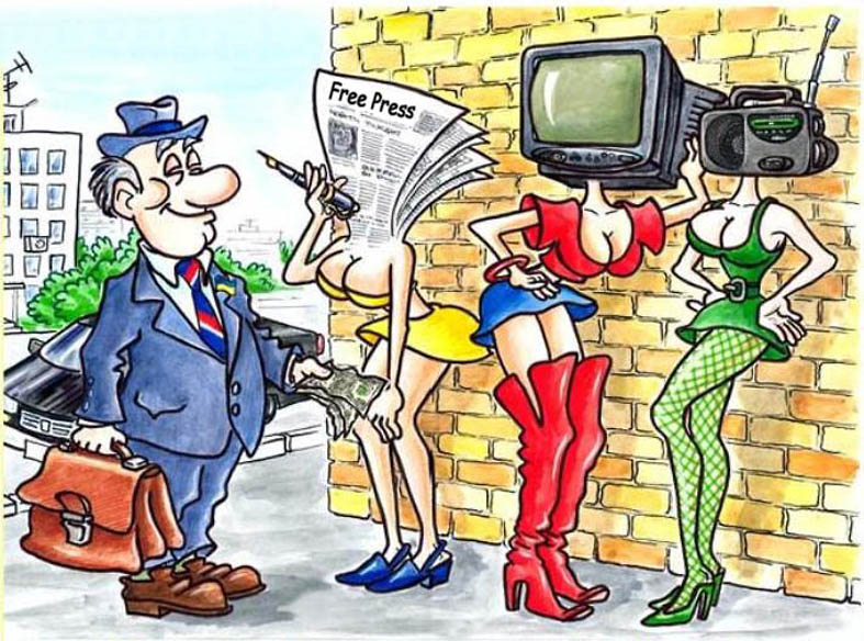 სინდისისგან თავისუფალი მედია: რაც ჩვენი ქვეყნის ტელევიზიებში ხდება, ყველაფრის უპირველესი დამკვეთი სოროსის ფონდია