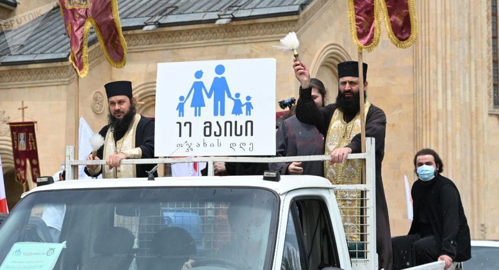 ოჯახის სიწმინდის დღეს თბილისის ქუჩები აკურთხეს