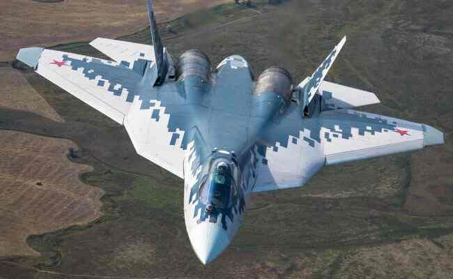 """""""საამო არის საცქერლად""""...: რუსი მფრინავის განუმეორებელი ვირაჟები მე-5 თაობის გამანადგურებლით (Су-57)"""